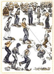 Дворовая игра - Рыбалка или Рыбак и рыбки