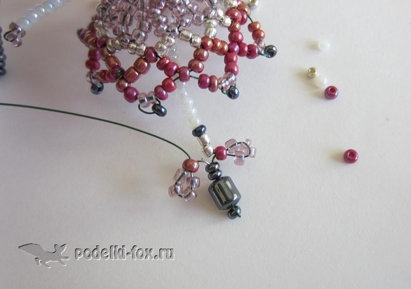 Поделки из бисера для начинающих - Цветочная фея