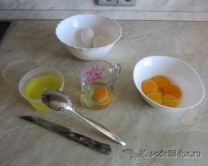 Рецепт теста для пряников