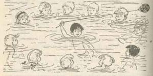 Игры для детей на воде