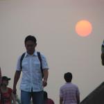 Почему солнце красное на закате