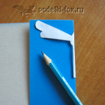 Поделка из бумаги - Стрекоза
