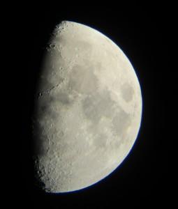 Луна в телескоп Celestron PowerSeeker 80 EQ