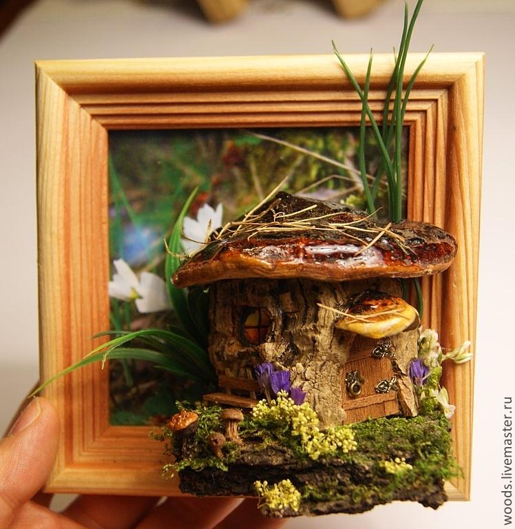 Картины своими руками из природного материала