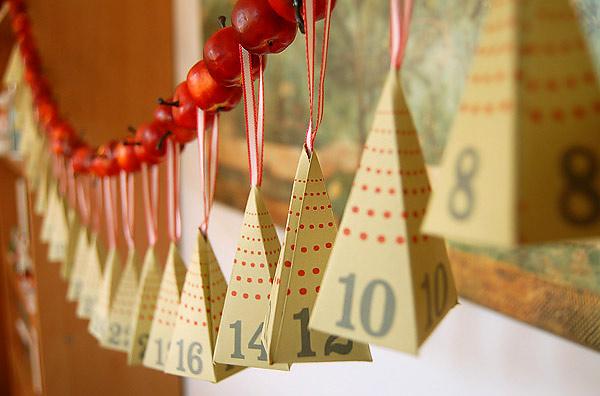 Адвент календарь своими руками на день рождения