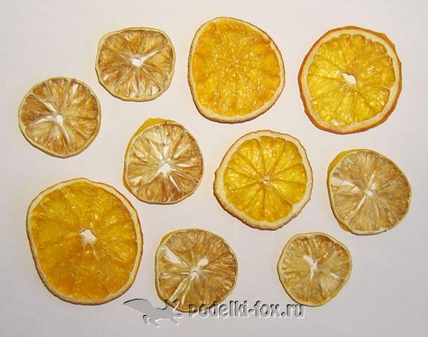 Как высушить апельсины и лимоны на батарее