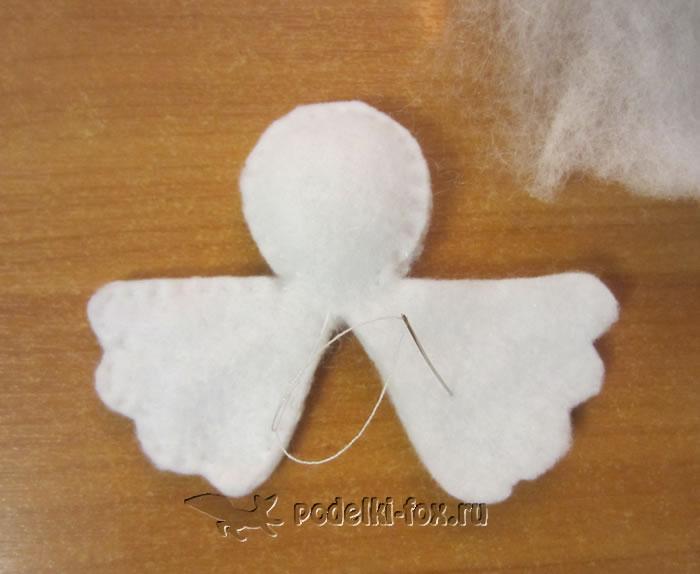 Ангелочки из фетра